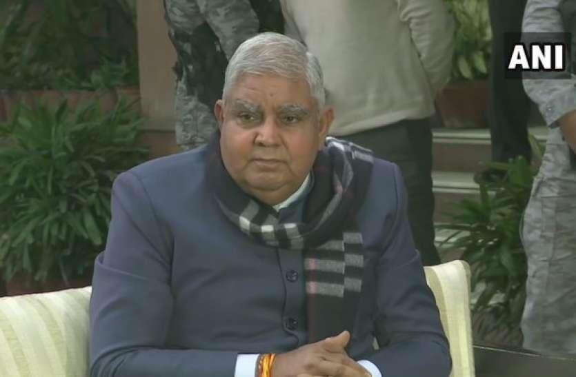 गृहमंत्री अमित शाह से पश्चिम बंगाल के राज्यपाल धनखड़ ने की मुलाकात, हिंसा मुक्त चुनाव को लेकर की चर्चा
