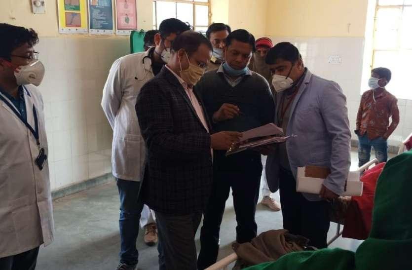 कलक्टर पहुंचे प्रसूताओं के घर, पूछा- स्वास्थ्य केन्द्रों में प्रसूति क्यों नहीं करवाई