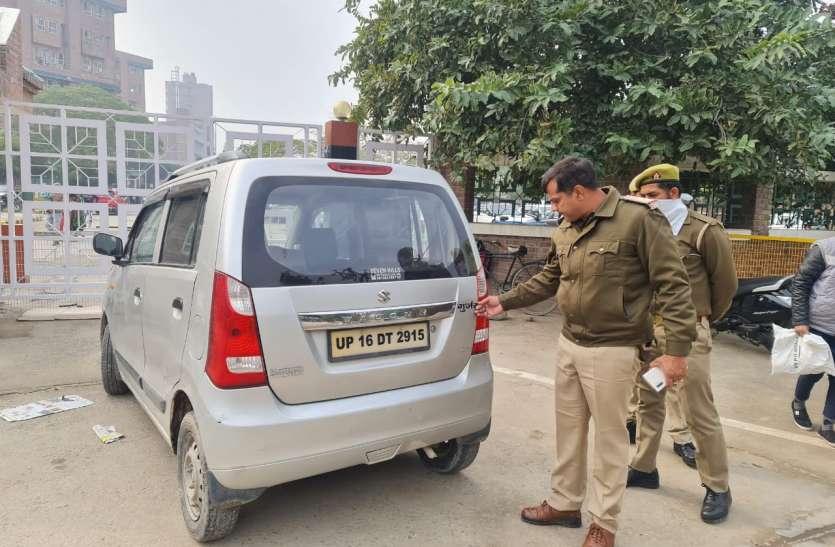 गाड़ी पर जाति लिखवाना पड़ा भारी, 594 चालकों के हुए चालान, कई वाहन किए गए सीज