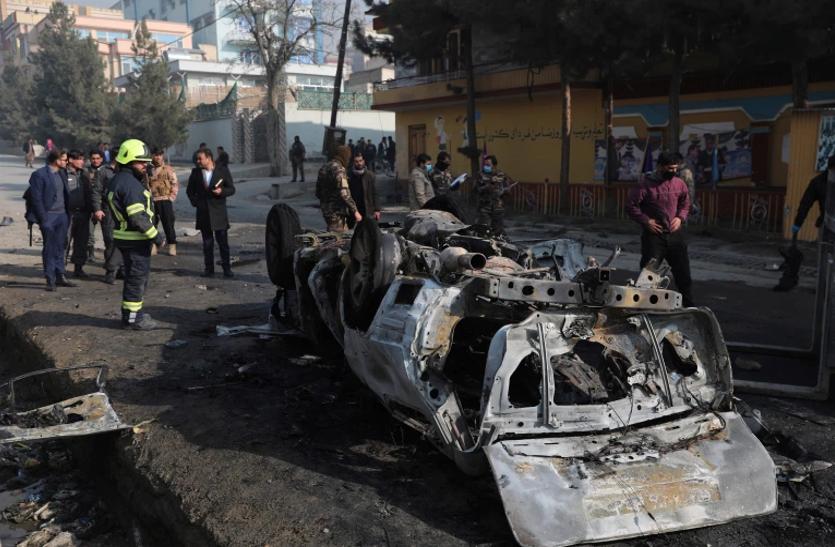 काबुल में तालिबानी हमले में मारे गए तीन लोग