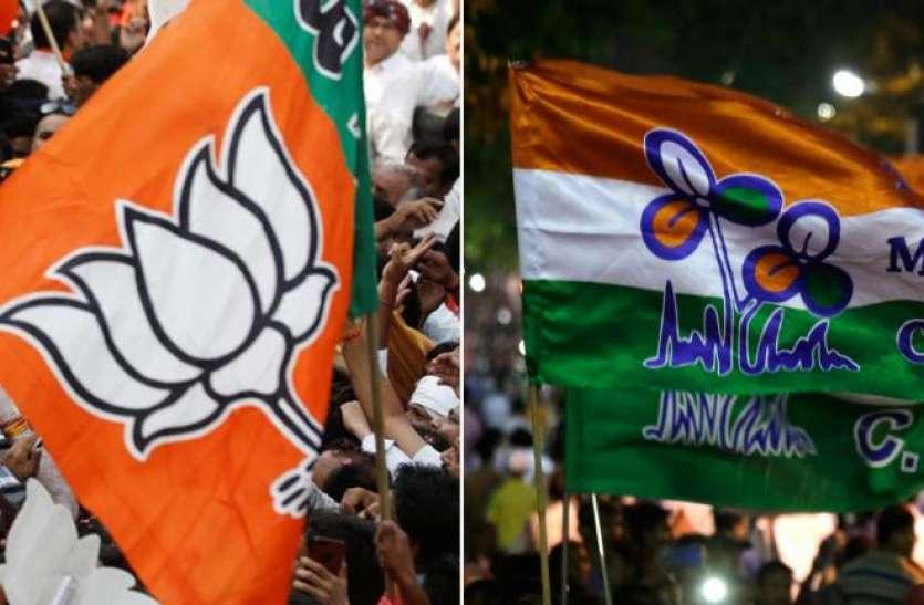 पश्चिम बंगाल: टीएमसी और भाजपा समर्थकों के बीच झड़प