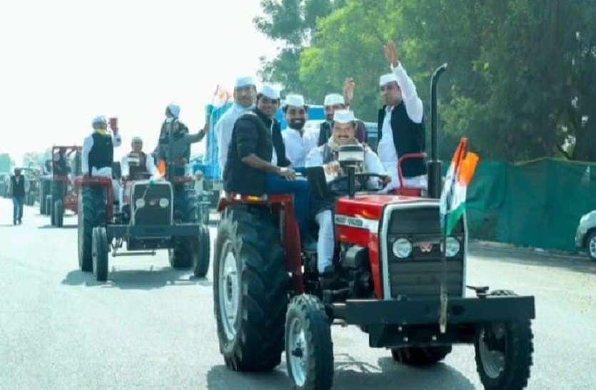 कृषि कानूनों के खिलाफ कांग्रेस सेवादल की किसान संघर्ष यात्रा का समापन आज