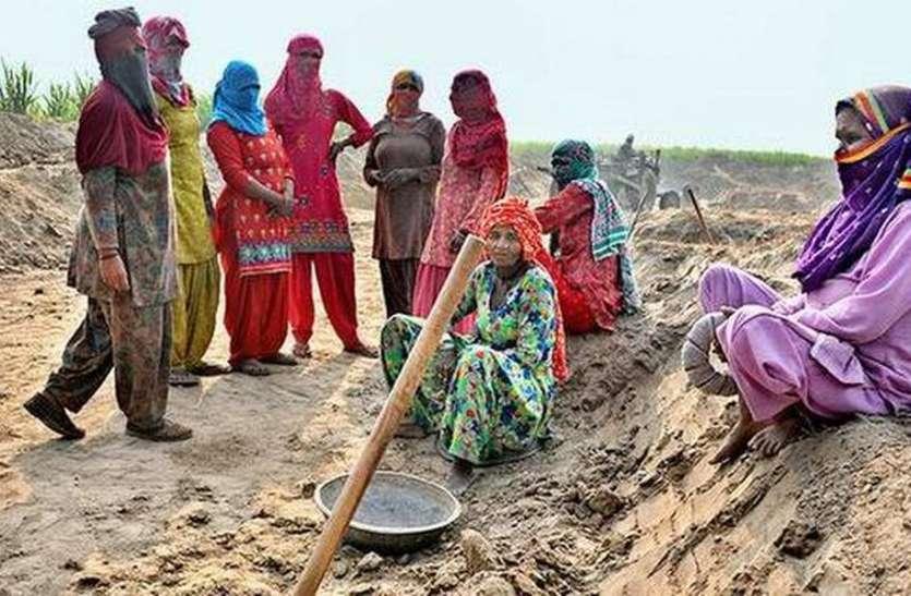 सुस्ती भगाने पर बढऩे लगा पसीने का मोल,मनरेगा में अब मिल रही पहले से अधिक मजदूरी