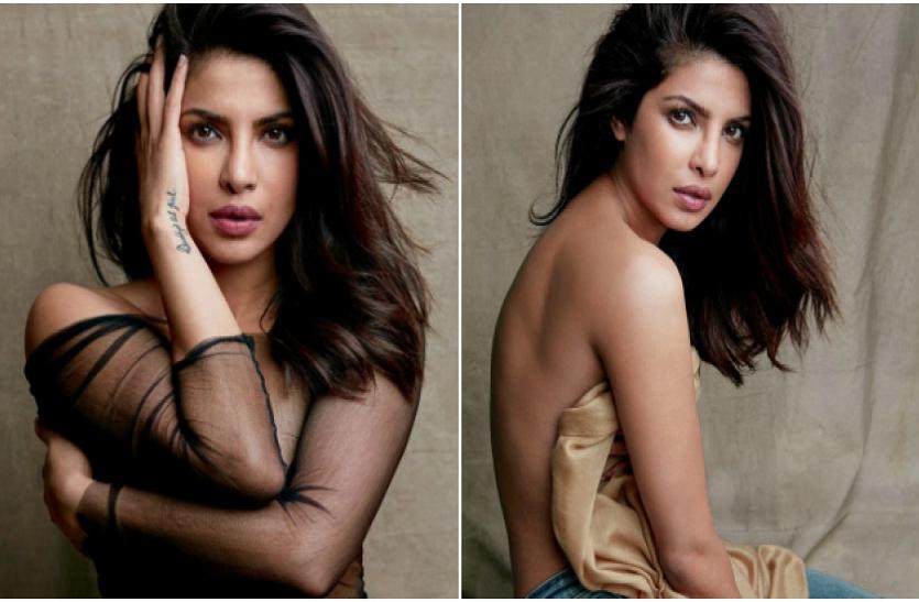 Priyanka Chopra ने करवाया ग्लैमरस फोटोशूट, इंटरनेट पर हो रहा वायरल