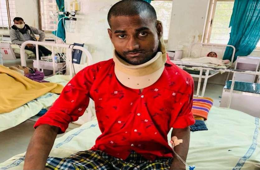 अहमदाबाद के सिविल अस्ताल में यूपी के श्याम को मिली गंभीर चोट से मुक्ति