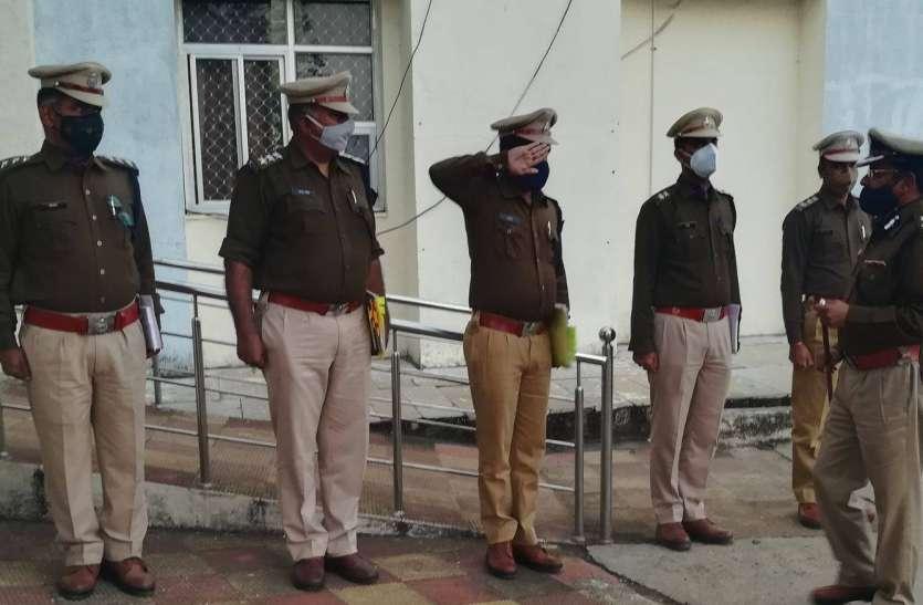 उदयपुर आईजी ने किया प्रतापगढ़ का दौरा, नए साल में अफीम व शराब तस्करी में कमी का लिया संकल्प