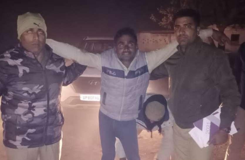 फिरोजाबाद के बाद आगरा में बदमाशों की शामत, मुठभेड़ में नौ गिरफ्तार