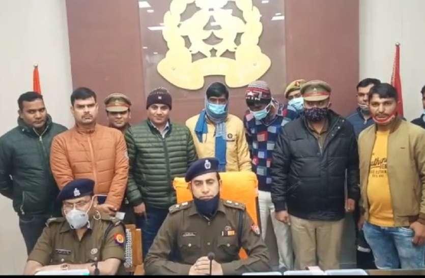 बिजनौर पुलिस ने किया अवैध शस्त्र फैक्ट्री का भंडाफोड़ दो गिरफ्तार