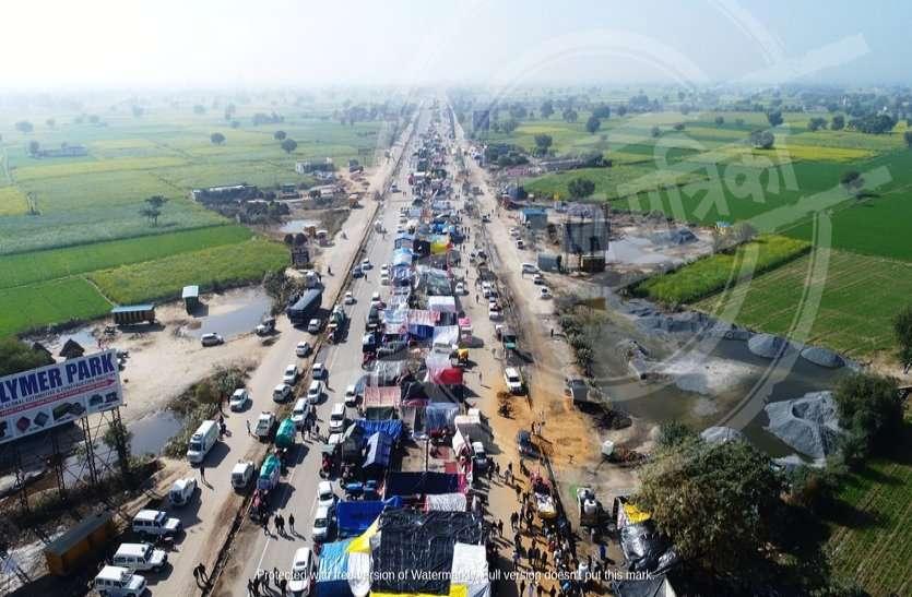 सुप्रीम कोर्ट की दखल के बाद जल्दी समाप्त हो सकता है शाहजहांपुर किसान आंदोलन, किसानों ने दिए संकेत