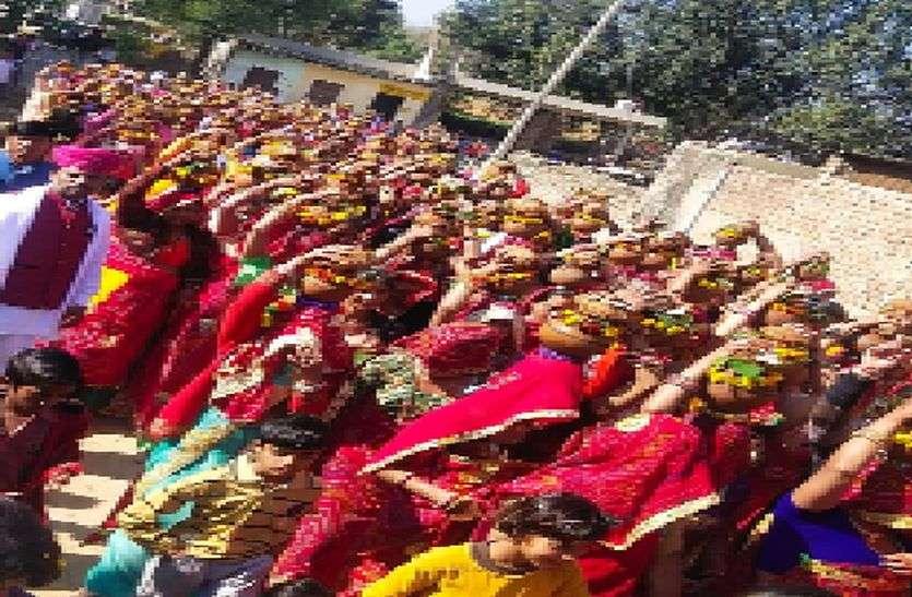 Prana-Pratishthan : कलश यात्रा में उमड़ी श्रद्धा