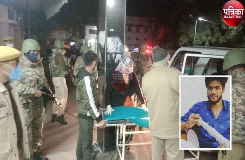 कुख्यात भोला को जयपुर से पाली लाए तो जवानों ने संभाली बंदूकें, देखें पूरी तस्वीरें...