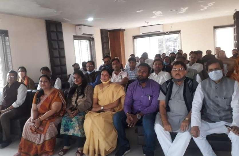 राममंदिर निर्माण के लिये निधि संग्रह अभियान पर योजना बैठक