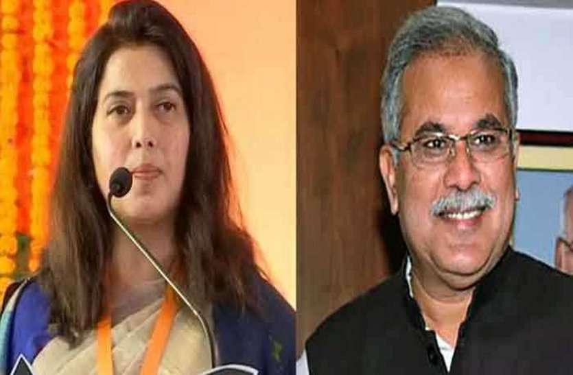 मुख्यमंत्री की राखी सिस्टर सांसद सरोज के तीखे बोल, प्रदेश की कांग्रेस सरकार को कहा ट्रांसफर की दुकान