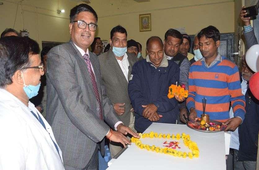 ढोल नगाड़ों के साथ धौलपुर में हुआ कोविड वैक्सीन का स्वागत