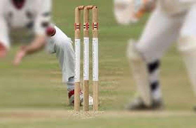 cricket match - प्रीमियम लीग क्रिकेट मैच वार्ड 9 ने जीता