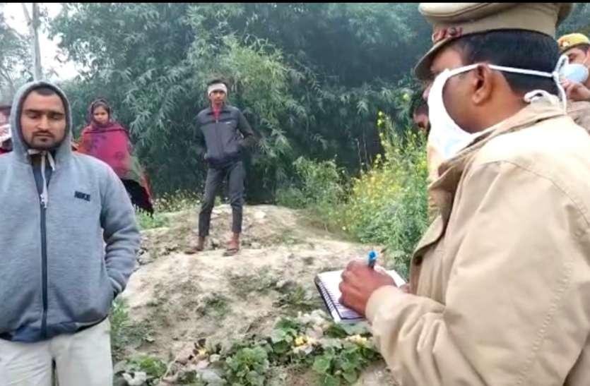 रायबरेली में गंगा घाट पर शव मिलने से मचा हड़कंप,पुलिस जाँच में जुटी
