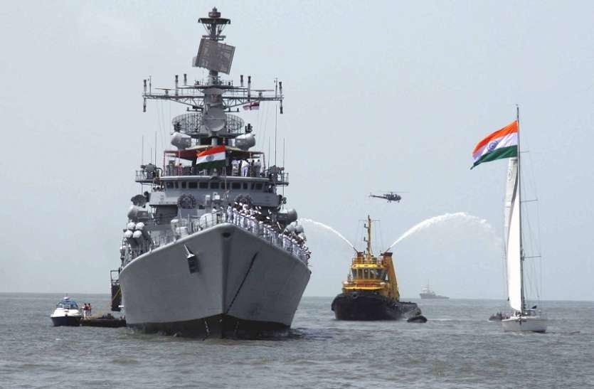 समुद्र में और मजबूत होगी भारतीय नौसेना