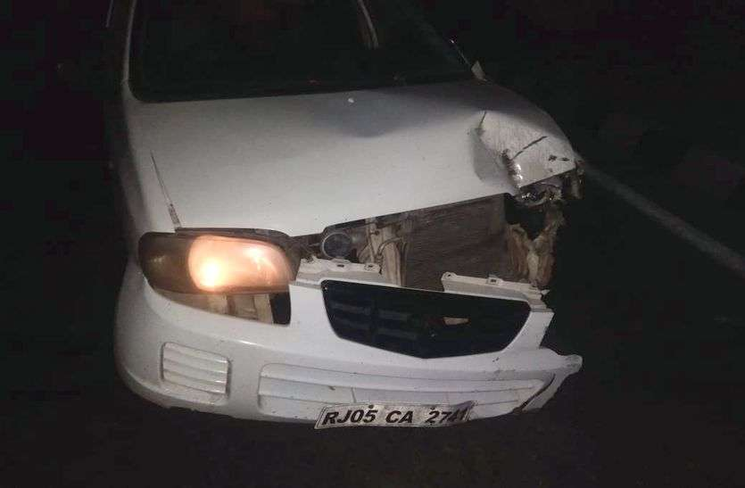 दो सड़क दुर्घटनाओं में तीन जनों की मौत