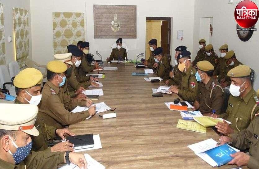 एसपी रावत की पाली पुलिस के अधिकारियों को दो टूक, कहा- पुलिस-अपराधियों में सांठ-गांठ बर्दाश्त नहीं