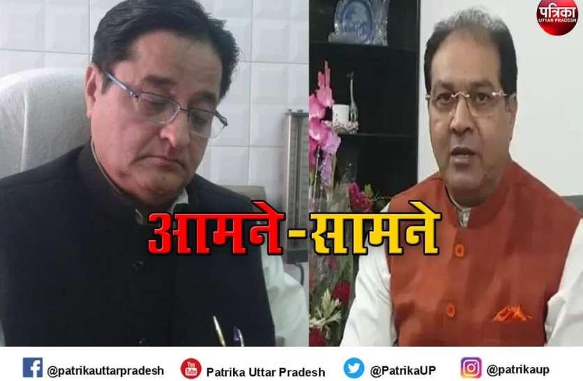 सपा सांसद के बयान पर भड़के मंत्री मोहसिन रजा, कहा- राम मंदिर पर अपना स्टैंड साफ करें अखिलेश यादव