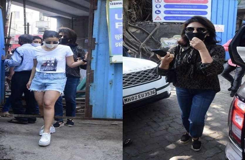 शॉर्ट्स पहने सास Neetu Kapoor संग नज़र आईं Alia Bhatt, घर को देखने गई थीं साथ