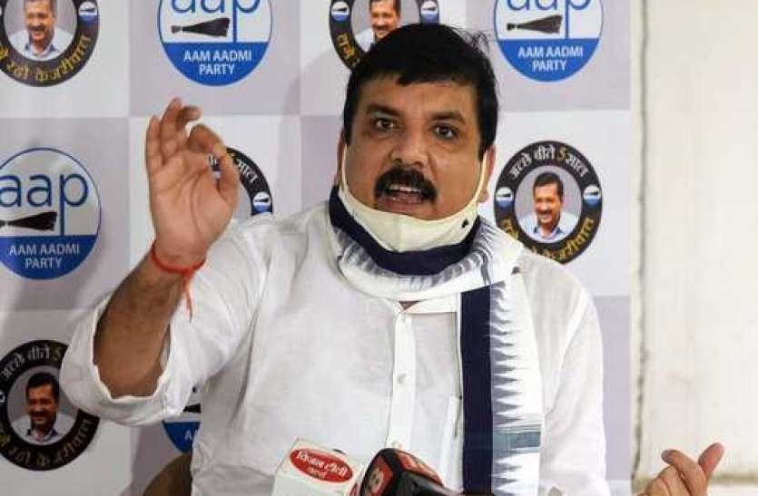 शिवसेना के बाद AAP सांसद संजय सिंह का दावा- बीजेपी और AIMIM के बीच हो चुका है गठबंधन