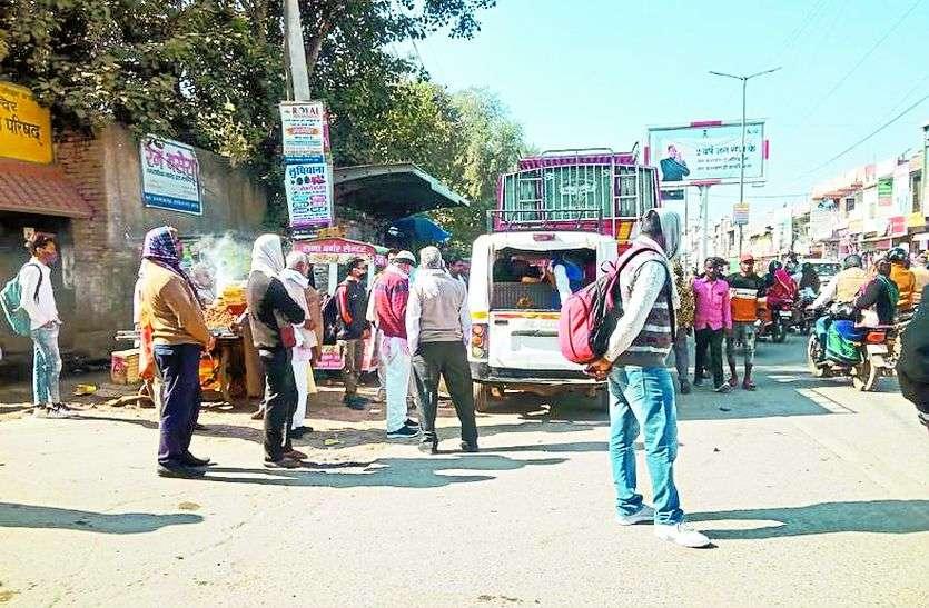 ग्रामीण अब भी कर रहे रोडवेज बसों का इंतजार