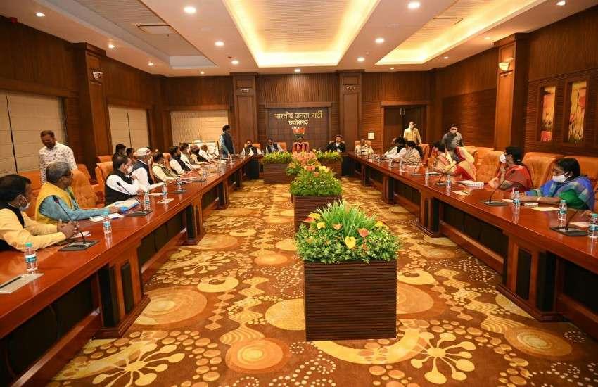 छत्तीसगढ़ : भाजपा का 22 को जिलों में प्रदर्शन, गिरफ्तारी भी देंगे