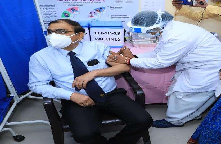 प्रदेश का पहला टीका अजमेर में!