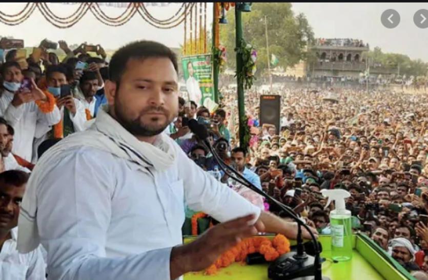 तेजस्वी यादव ने नीतीश पर साधा निशाना, बेकाबू हालात न सुधरने पर दिल्ली कूच की दी चेतावनी