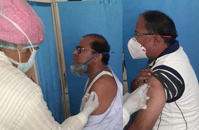 टोंक जिले में अब तक लक्ष्य के विपरित 600 मे से 366 का ही हुआ वैक्सीनेशन