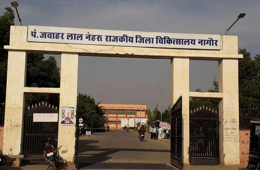 Nagaur patrika news. आठ से नौ माह बाद खुले स्कूल, कलक्टर  ने ली क्लास, जांची व्यवस्थाएं
