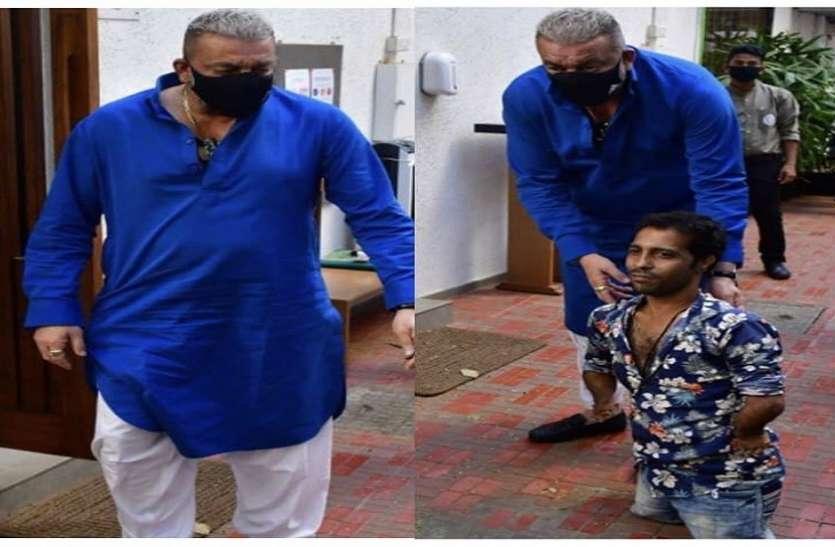 फैन संग फोटो क्लिक करवाते हुए Sanjay Dutt ने जीता लोगों का दिल, सोशल मीडिया पर हो रही है जमकर तारीफ