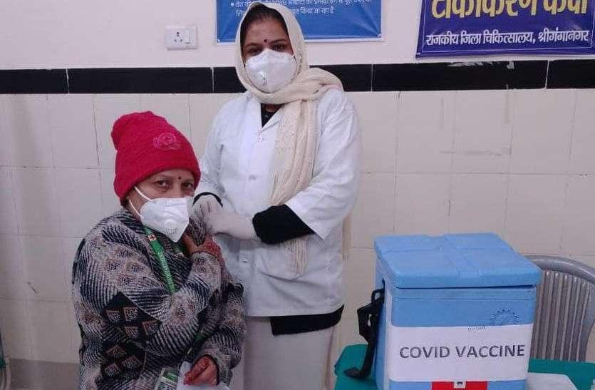 कोरोना वैक्सीनेशन का दूसरा दिन, राजस्थान में 11288 ने लगवाए कोरोना के टीके