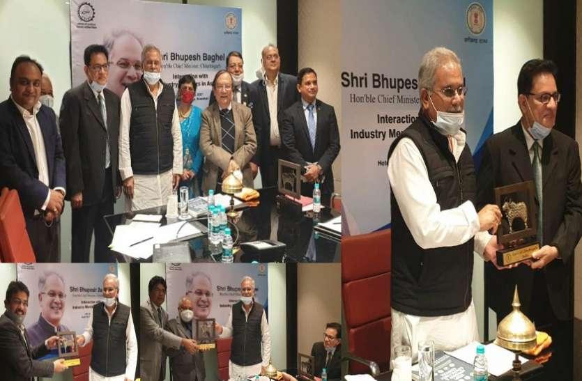 देश-विदेश में पसंदीदा निवेश स्थल के रूप में पहचान बना रहा है छत्तीसगढ़ : मुख्यमंत्री बघेल