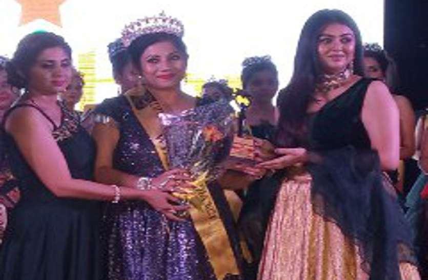 अंबिकापुर की प्रीति ने हरिद्वार में जीता 'दीवा क्वीन मिसेज इंडिया' का खिताब, पेशे से हैं टीचर