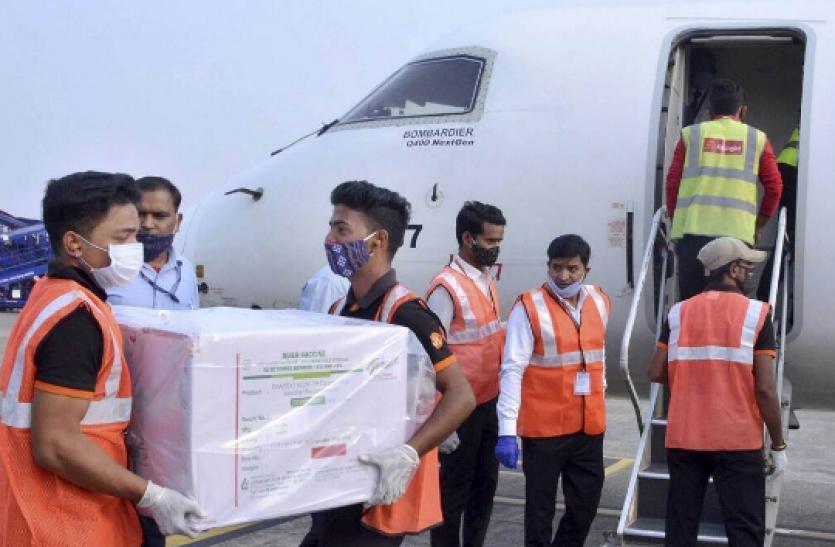 Covid-19 : भारत ने सबसे पहले भूटान को भेजा डेढ़ लाख कोरोना वैक्सीन का गिफ्ट