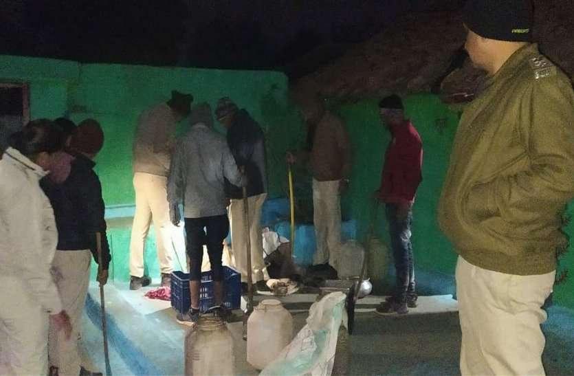 गांवों में बन रही अवैध तरीके से शराब, हो रही जमकर तस्करी, ऐसे हो रहा खुलासा
