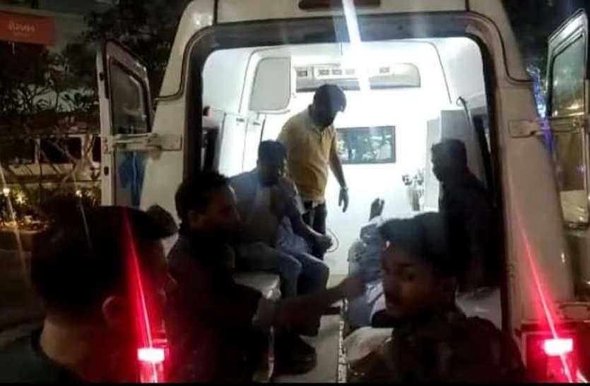 आरती इंडस्ट्रीज के नाइट्रिक एसिड प्लांट में धमाका