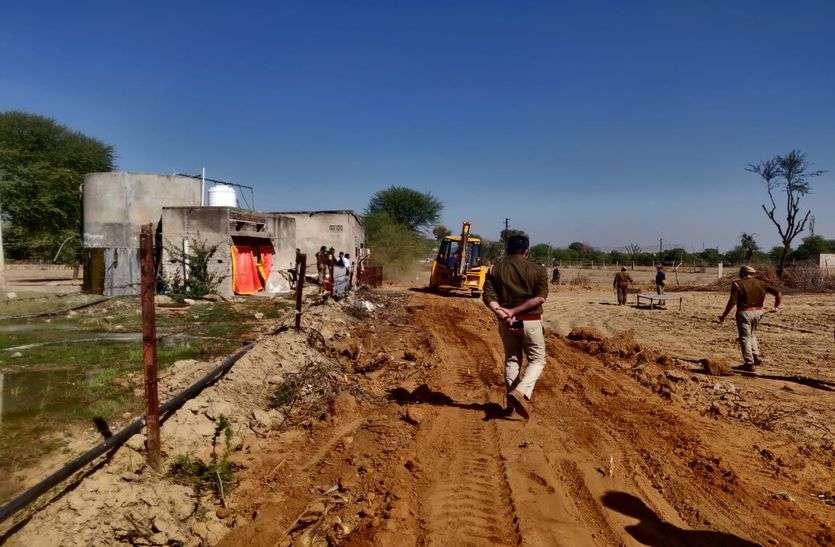जेडीए ने अपनी 10 करोड़ की 4 बीघा जमीन को कराया अतिक्रमण मुक्त