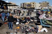 आईएस ने ली बगदाद के बाजार में हुए आत्मघाती विस्फोटों की जिम्मेदारी