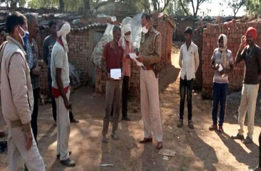 पुलिस ने ईट-भट्टों पर की जांच ,नहीं मिले बांग्लादेशी मजदूर
