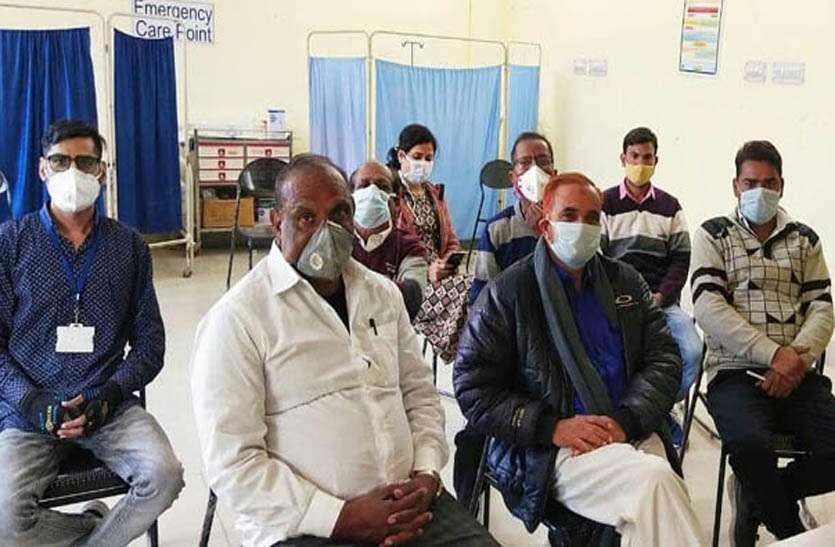 टोंक में 64, देवली में 88 व झिलाई में 50 का हुआ टीकाकरण
