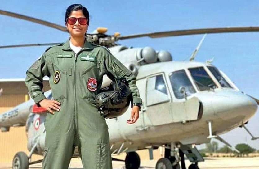 26 जनवरी को राजपथ पर फ्लाई पास्ट का नेतृत्व करेगी राजस्थान की बेटी स्वाति