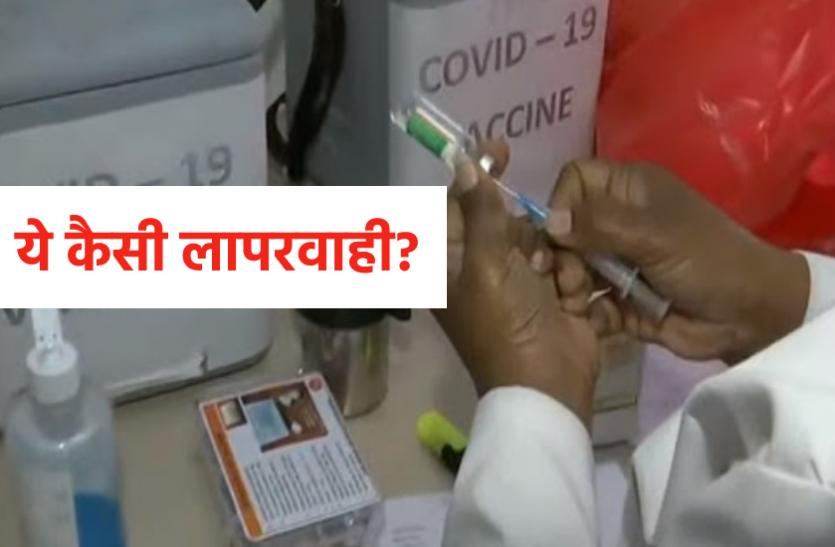 38 हजार 663 हेल्थ वर्कर का टीकाकरण: भोपाल पिछड़ा इंदौर सबसे आगे, 6 जिलों में 50 फीसदी से कम उपस्थिति