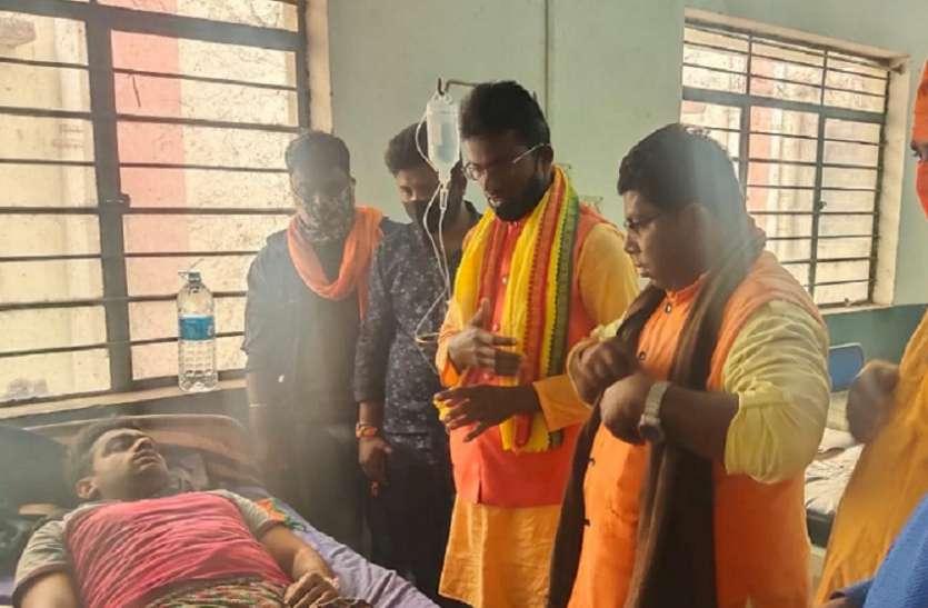 भाजपा समर्थक पर हमला, मकान-बाइक में तोडफ़ोड़