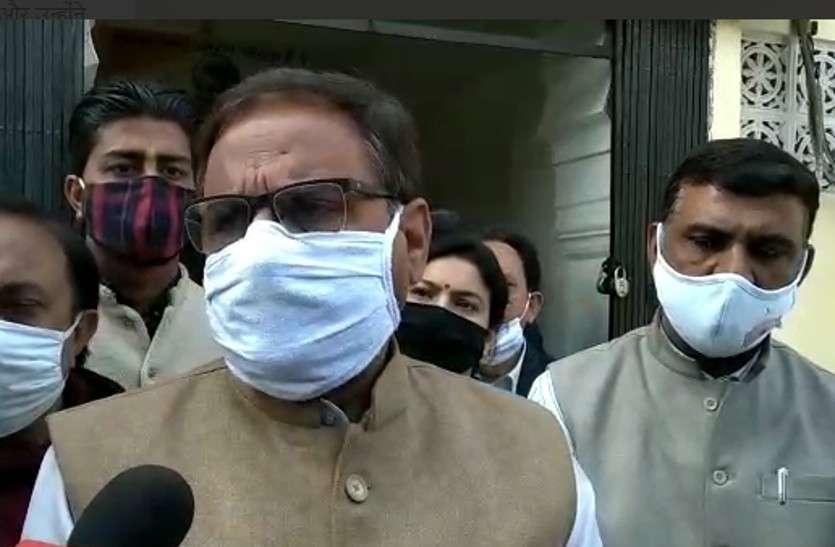 महेश जोशी का BJP पर हमला, कहा-अपने नेताओं की बजाय कांग्रेस नेताओं के गुणगान में जुटी