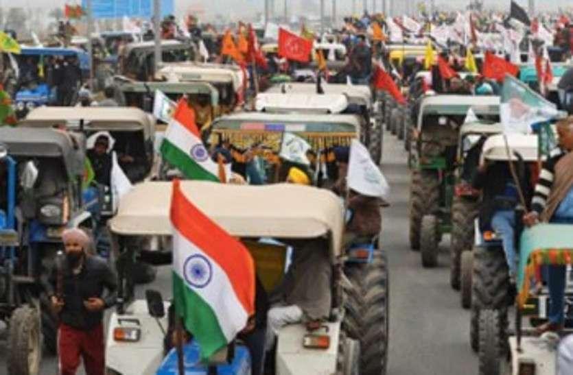 जयपुर में भी 25 जनवरी को होगी किसान ट्रैक्टर तिरंगा परेड