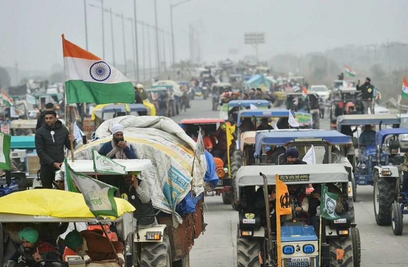 Farmer Protest: महाराष्ट्र में 15,000 किसानों ने निकाला नाशिक-मुंबई 'वाहन मार्च'