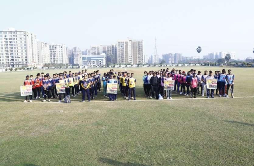 SURAT NEWS: क्रिकेट टूर्नामेंट के पहले दिन छह लाख एकत्र